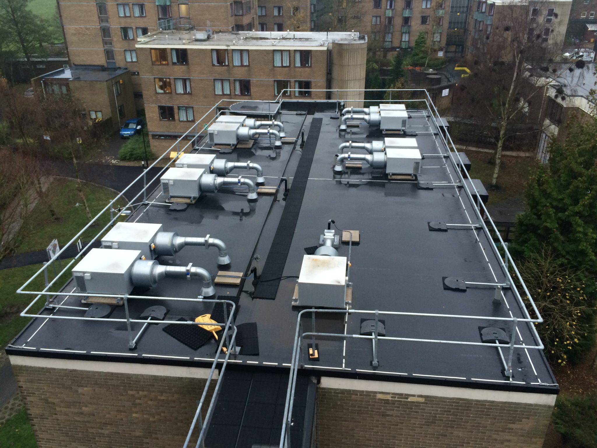Newcastle University Roof