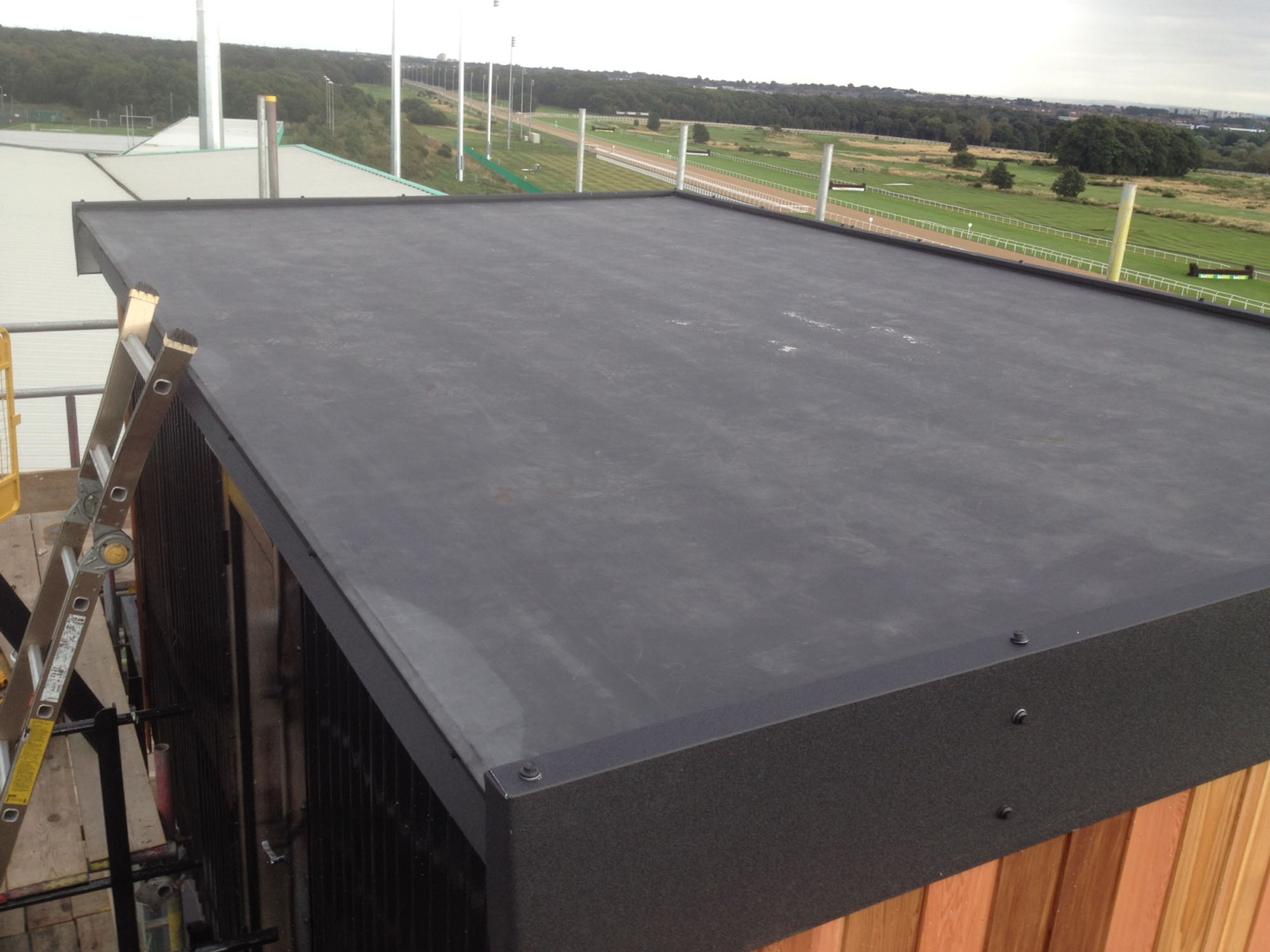Flat Roofing Apex Roofing